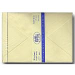 Vergé de France - 25 enveloppes doublées - ivoire