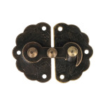 Loquets en métal 3,3 x 4,3 cm - 2 pcs