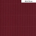 Carton ondulé mini - Bordeaux - 50 x 70 cm