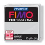 Pâte polymère Fimo Pro 85 g - 80 - Gris