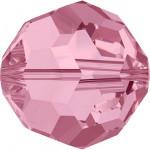 Perle ronde 5000 - 4 mm - Light Rose