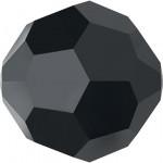 Perle ronde 5000 - 4 mm - Jet Hematite
