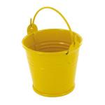Seau en zinc jaune 5,5 x 4,5 cm