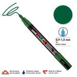 Marqueur PC-3M pointe conique fine - Vert foncé