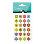 Stickers 3D Cooky thème fleurs