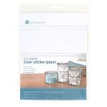 Papier adhésif transparent imprimable 21,6 x 28 cm - par 8