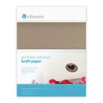 Papier adhésif kraft imprimable 21,6 x 28 cm - par 8