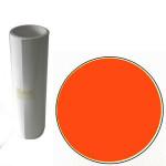Film vinyle adhésif brillant - 10 m x 24,6 cm - Orange