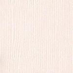 Papier Bazzill Toile 30,5 x 30,5 cm - 216 g/m² - Blanc Vanilla
