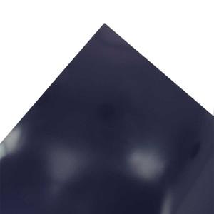 Feuille de papier Chromolux 50 x 65 cm 250 g/m² - Bleu foncé