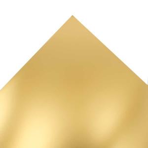 Feuille de papier Chromolux 50 x 65 cm 250 g/m² - Or