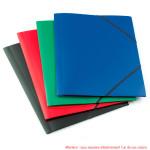 Chemise élastique A4 polypropylène opaque