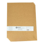 Plaque de liège grain fin 30 x 40 cm ep. 1 mm - 5 pcs
