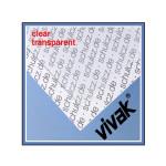 Plaque de plastique transparent 40 x 50 cm ep. 2 mm