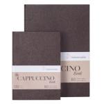 Carnet de dessin Cappuccino papier Brun 120 g/m2 - 14,8 x 21 cm (A5)