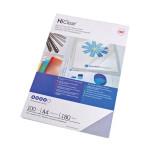 Plat de couverture HiClear A4 180 microns Transparent 25 pcs