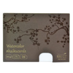 Carte Haïku papier Aquarelle 260 g/m² x 24 F 14,7 x 10,6 cm