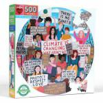 Puzzle rond Action climat 500 pièces