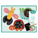 Cartes à gratter pour les petits Gratte les animaux rigolos