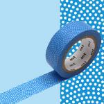 Masking Tape 1P Samekomon tsuyukusa 15 mm x 7 m