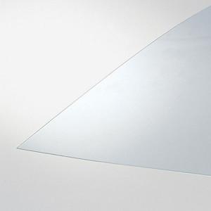 Plaque de verre organique transparent Épaisseur 1,2 mm - 24 x 30 cm
