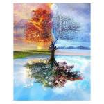 Peinture par numéros Arbre 4 Saisons