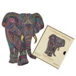 Puzzle en bois L'Eléphant Impérial