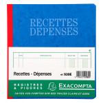 Carnet Recettes-Dépenses 80 p 21 x 19 cm